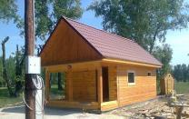 Загородный дома баня из бруса. Строительство отделка. Красноярск | фото 3 из 6