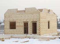 Загородный дома баня из бруса. Строительство отделка. Красноярск | фото 4 из 6