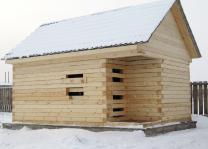 Загородный дома баня из бруса. Строительство отделка. Красноярск | фото 2 из 6