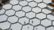 мозаика зеркальная соты (шестигранник)  | фото 5 из 5
