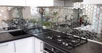 мозаика зеркальная соты (шестигранник)  | фото 4 из 5