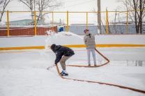 Заливка льда, катков, хоккейных коробок, обслуживание катков с естественным льдом. | фото 2 из 3