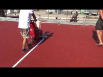 Нанесение разметка спортивной площадки | фото 2 из 3