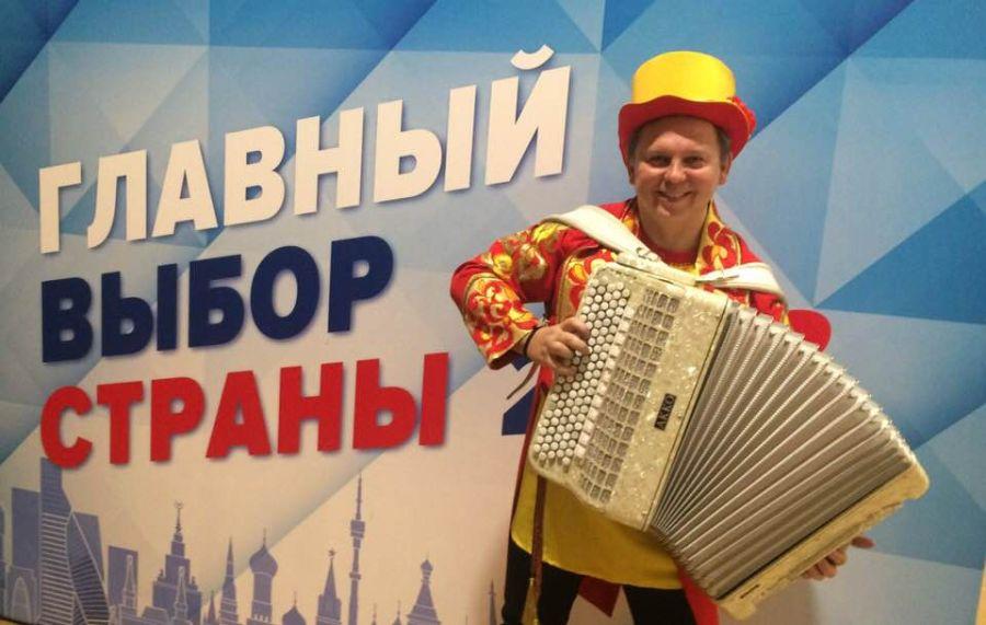 Баянист тамада Виктор Баринов на праздник и Новый год. | фото 1 из 6