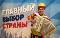 Баянист тамада Виктор Баринов на праздник и Новый год.