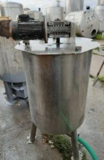 Емкость нержавеющая, объем — 0,25 куб. м.,
