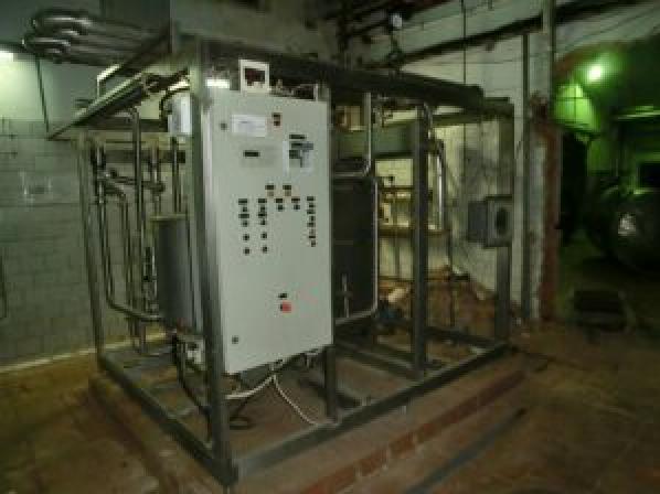 Пастеризационно-охладительная установка, | фото 1 из 1