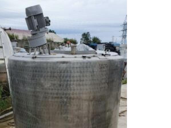 Емкость нержавеющая ОПБ-1000, объем — 1 куб.м.,  | фото 1 из 1