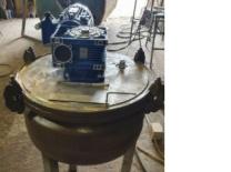 ПродаетсяРеактор нержавеющий, объем — 0,06 куб.м