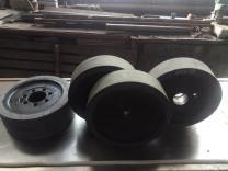 Гуммирование колес резиной и полиуретаном   фото 5 из 6