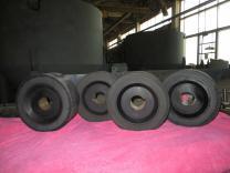 Гуммирование колес резиной и полиуретаном   фото 6 из 6