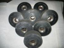 Гуммирование колес резиной и полиуретаном   фото 4 из 6