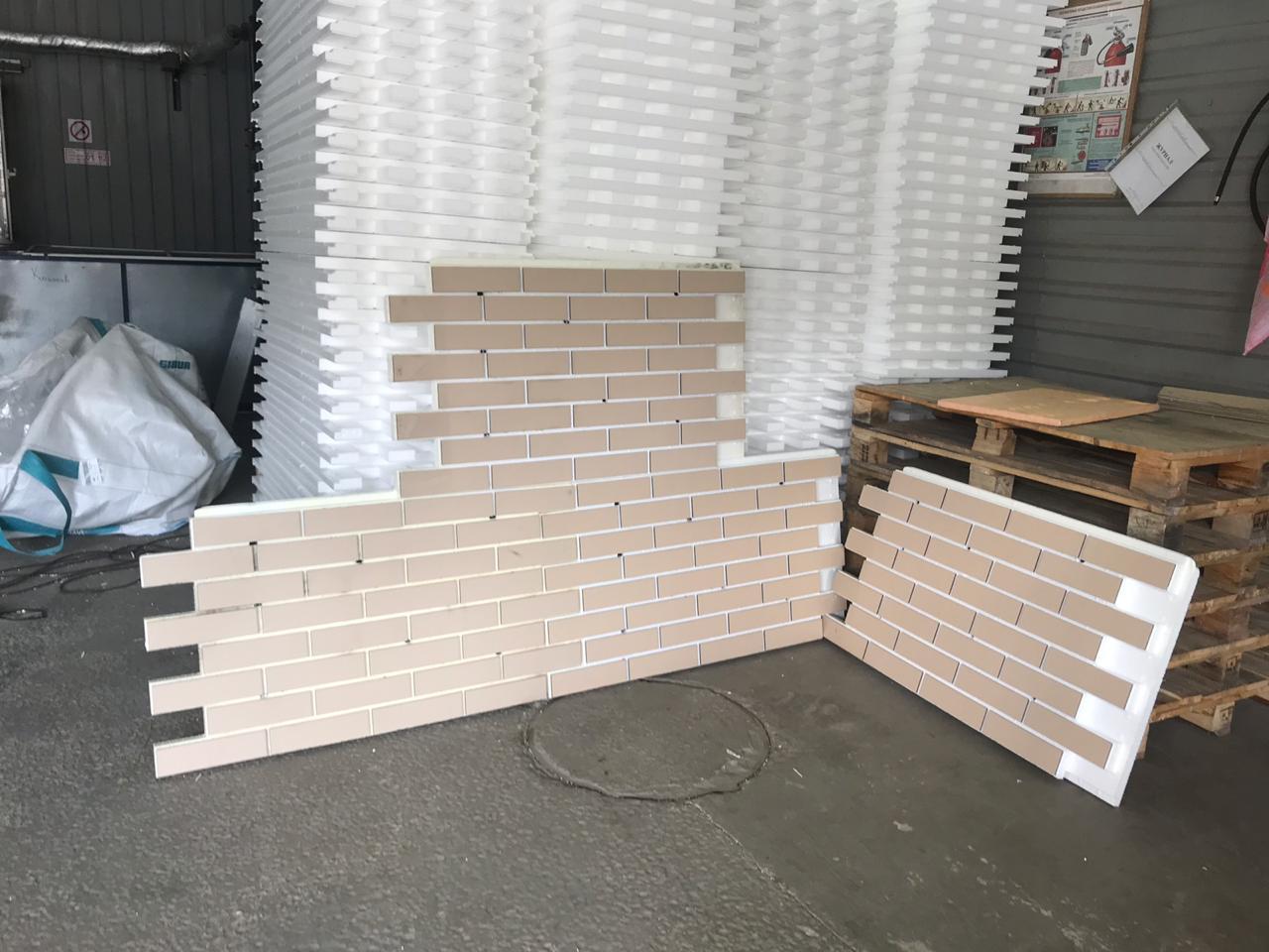 Фасадные термопанели с клинкерной плиткой   фото 1 из 4