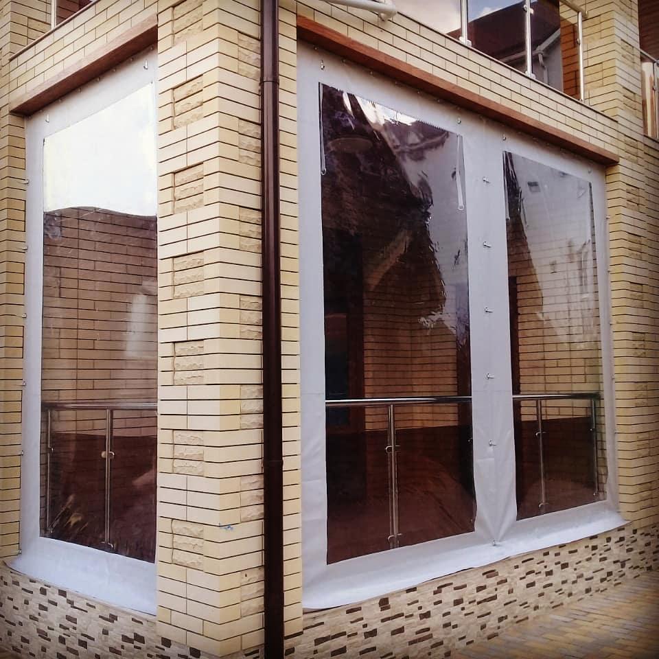 Mягкие окна для беседки, веранды, террасы   фото 1 из 6