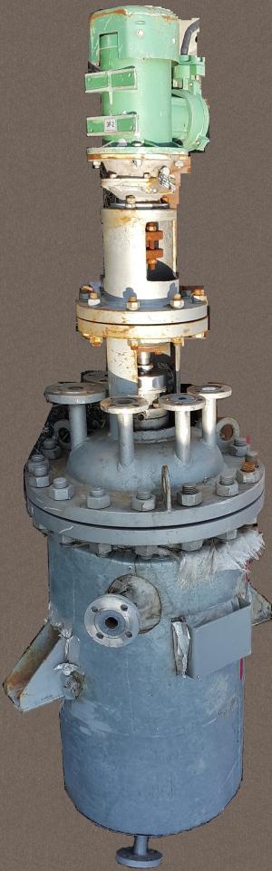 Химический реактор 0,1м3 н/ж аппарат с мешалкой   фото 1 из 2