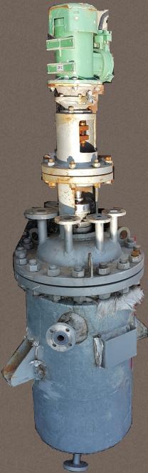 Химический реактор 0,1м3 н/ж аппарат с мешалкой
