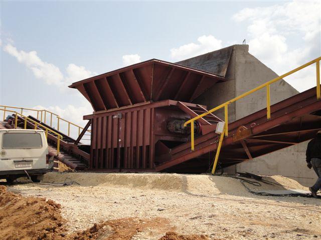 Промышленные полустационарные дробильно-сортировальные комплексы от производителя | фото 1 из 6