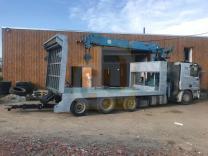 Услуги грузового эвакуатора манипулятора