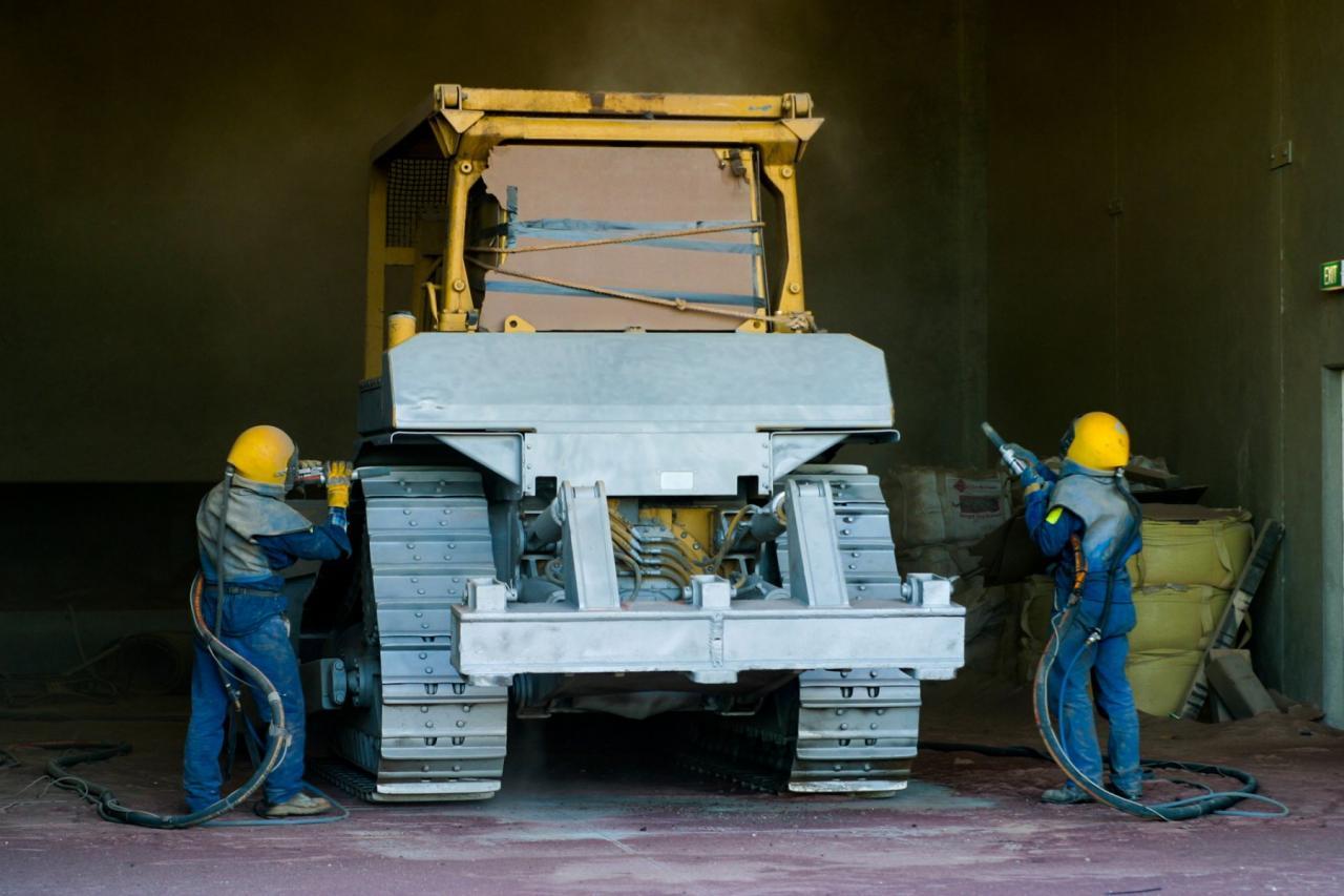 Пескоструйная обработка металла | фото 1 из 2