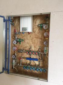 Монтаж системы водоснабжения, канализации и климатического оборудования. | фото 6 из 6