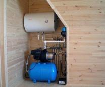 Монтаж системы водоснабжения, канализации и климатического оборудования.