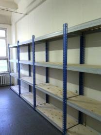 Стеллаж для склада (300 кг на полку) | фото 3 из 5