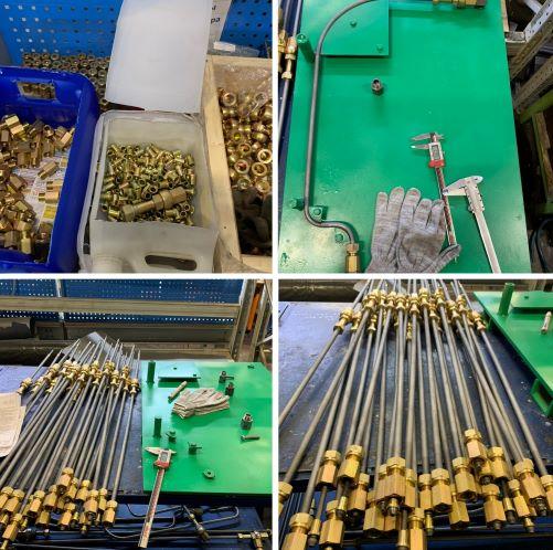 Производим под заказ трубки высокого давления для двигателей 6ч 18/22, 6ч12/14 | фото 1 из 2