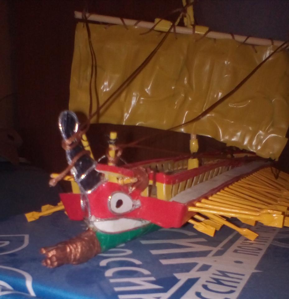 Модель корабля   фото 1 из 5