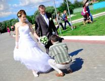 Видеосъемка свадьбы Луховицы