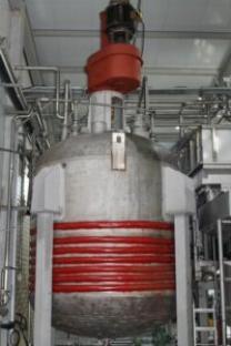 Продается Реактор нержавеющий, объем -10 куб.м