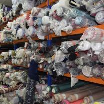 Распродаём Сток ткани со склада в Москве