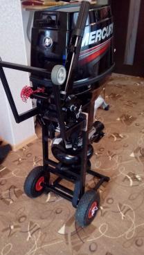 Тележка для лодочного мотора | фото 4 из 6