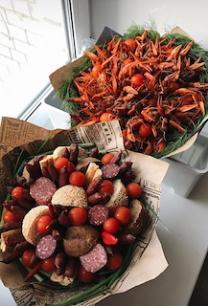 Подарки на 23 февраля, 8 марта, фруктовые букеты, клубничные   фото 2 из 4