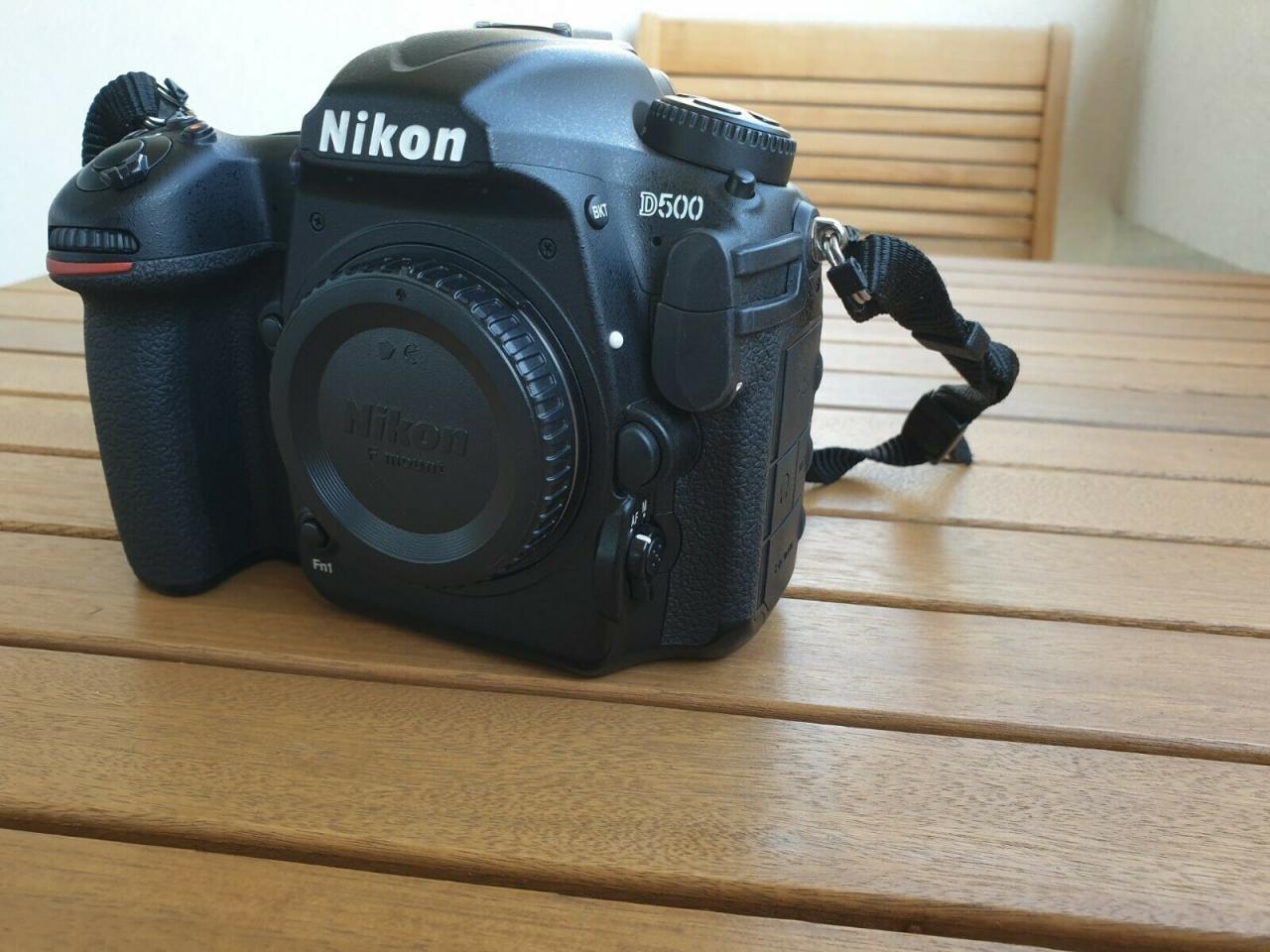 Nikon D500 камера в идеальном состоянии | фото 1 из 6