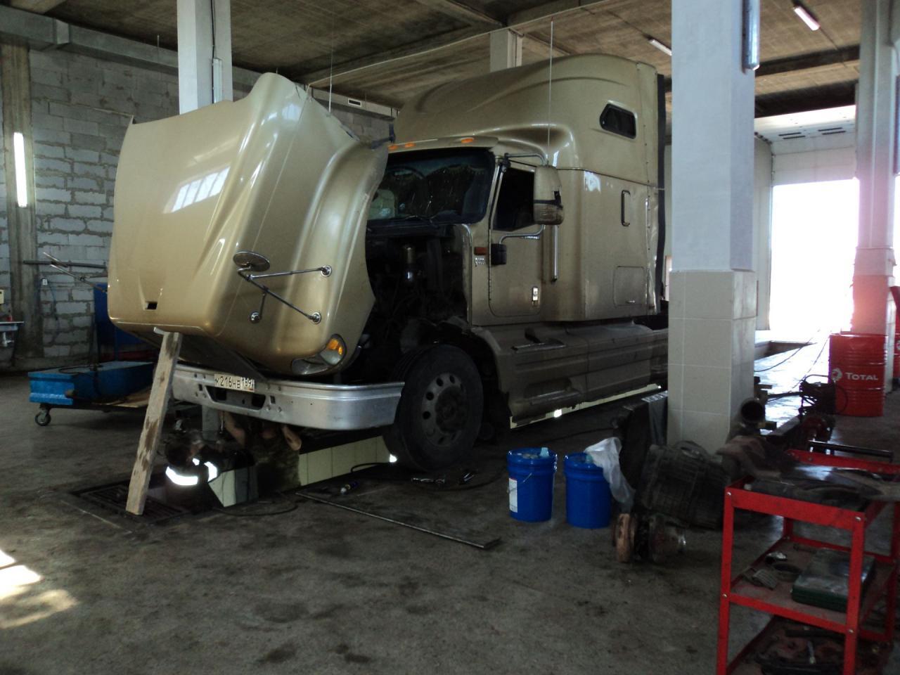 Ремонт грузовиков в Краснодаре на выезд. грузовое СТО Краснодар, ремонт грузовых автомобилей | фото 1 из 1