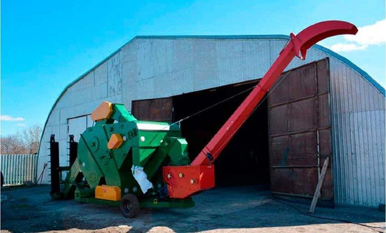 Мобильный зерноочистительный комплекс МЗК-70 | фото 1 из 2