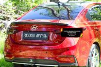 Спойлер крышки багажника Hyundai Solaris седан 2017-