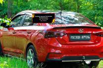 Спойлер крышки багажника Hyundai Solaris седан 2017- | фото 3 из 6