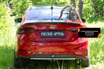 Спойлер крышки багажника Hyundai Solaris седан 2017- | фото 2 из 6