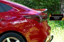 Спойлер крышки багажника Hyundai Solaris седан 2017- | фото 4 из 6
