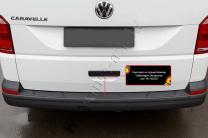 Накладка на задний бампер Volkswagen Transporter (T6) 2015- | фото 3 из 6