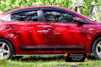 Молдинги на двери Hyundai Solaris седан 2017- | фото 3 из 6