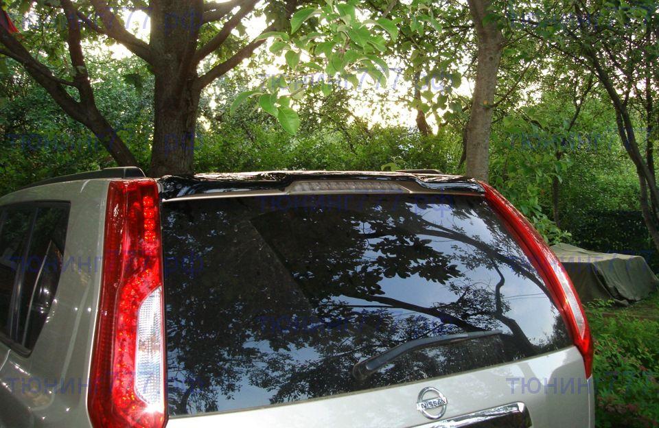 Дефлектор заднего стекла (козырек) Nissan X-Trail 2007-2014 | фото 1 из 1