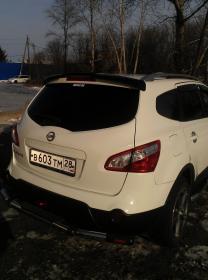 Дефлектор заднего стекла (козырек) Nissan Qashqai 2007- | фото 3 из 5
