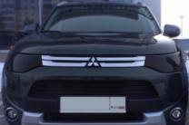 Защита фар (очки) для Mitsubishi Outlander 2012-2014