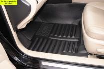 5D коврики в салон Toyota Camry VII (XV50), 2011-2018 | фото 5 из 6