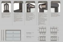Раздвижное гильотинное остекление с автоматическим управлением | фото 3 из 3