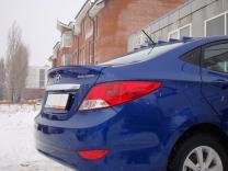 ЛИП-Спойлер Hyundai Solaris (2010-2016) | фото 2 из 2