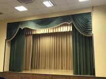 Пошив штор и одежды сцены для бюджетных  организаций