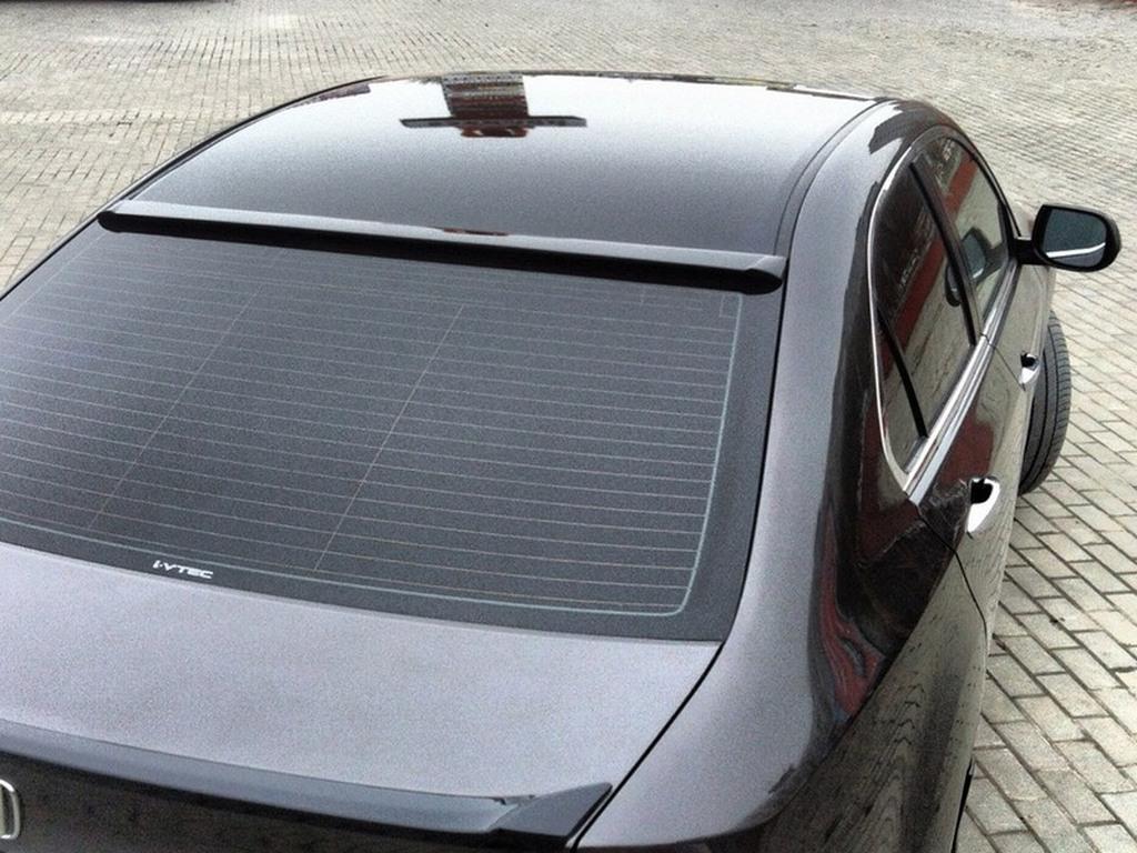 Дефлектор заднего стекла (козырек) узкий Honda Accord VIlI 2008-20013 | фото 1 из 2